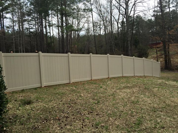 Vinyl Privacy Fence 37