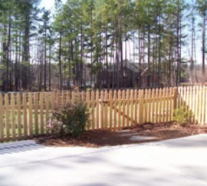 Wood Fencing Residential Fence Installation Aluminum
